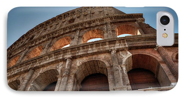 IPhone Case featuring the photograph Rome - The Colosseum 003 by Lance Vaughn