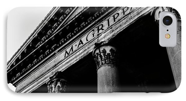 Rome - The Pantheon IPhone Case by Andrea Mazzocchetti