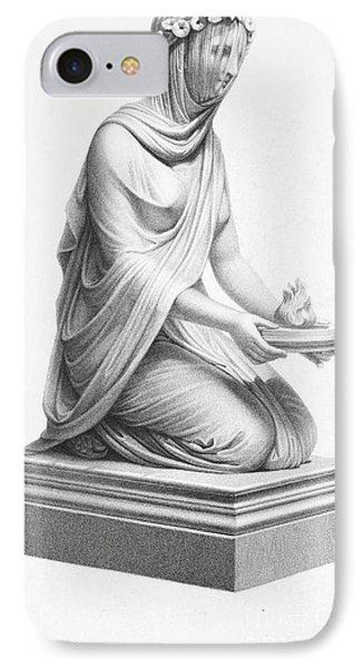 Rome: Vestal Virgin Phone Case by Granger