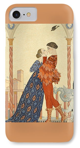 Romeo And Juliette IPhone Case by Georges Barbier