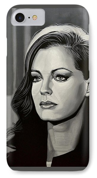 Romy Schneider IPhone Case by Paul Meijering