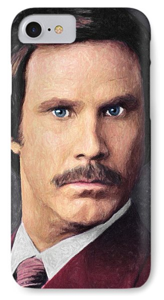 Ron Burgundy IPhone 7 Case