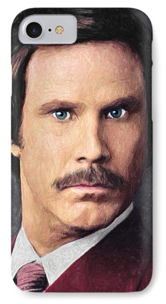 Ron Burgundy IPhone Case