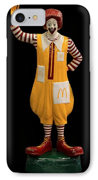 Ronald Mcdonald Phone Case by Andrew Fare