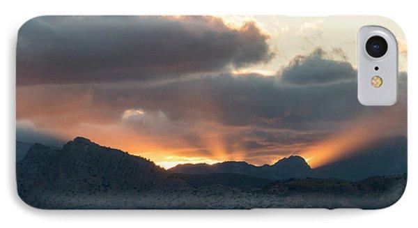 Ronda Sunset IPhone Case by Rod Jones