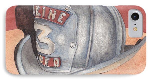 Rondo's Fire Helmet Phone Case by Ken Powers