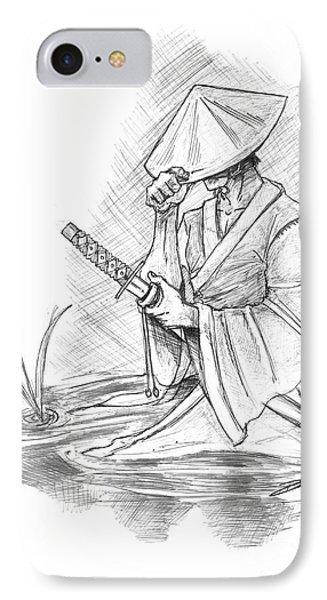 Ronin Samurai Phone Case by Baron Pollak
