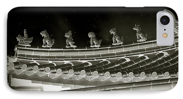 Roof National Palace Museum Taiwan City - Taipei  Phone Case by Christine Till