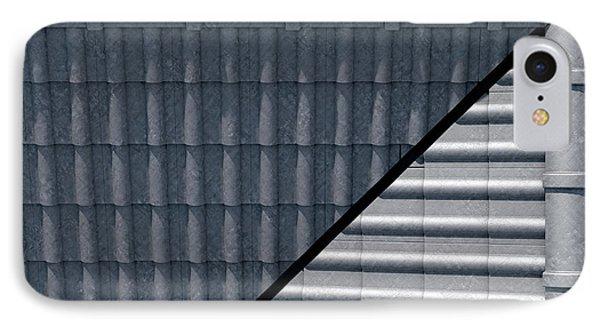 Roof Tiles Design Top IPhone Case