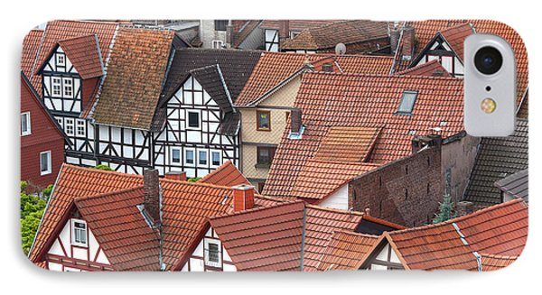 Roofs Of Bad Sooden-allendorf Phone Case by Heiko Koehrer-Wagner
