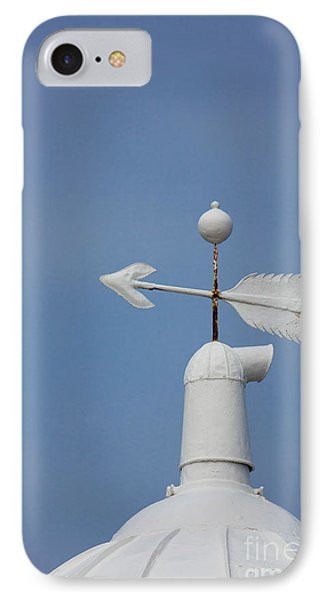 Rooftop Of Lighthouse Phone Case by Gabriela Insuratelu