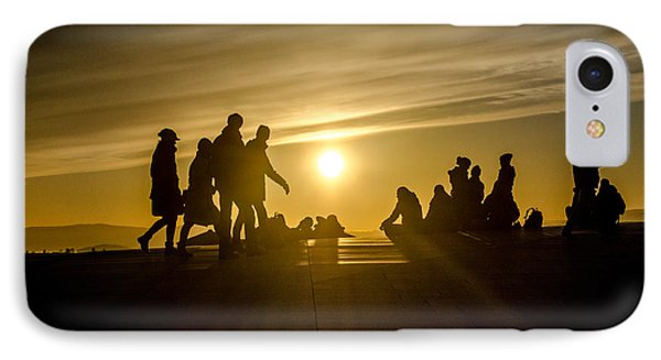 Rooftop Sunset IPhone Case by Kathleen Alhaug