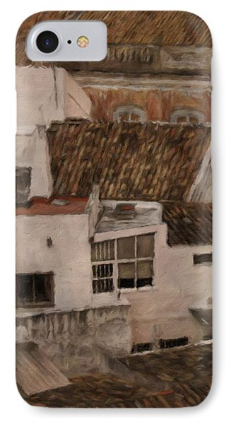 Rooftops By John Springfield IPhone Case by John Springfield