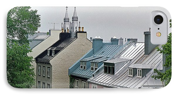 IPhone Case featuring the photograph Rooftops by John Schneider