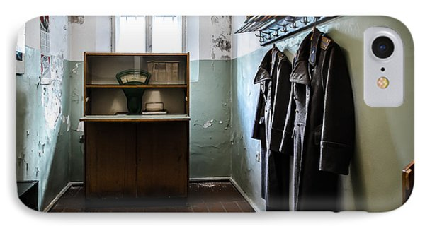 Room For The Kgb Prison Guards IPhone Case by RicardMN Photography