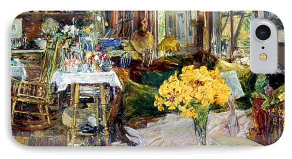 Room Of Flowers, 1894 Phone Case by Granger
