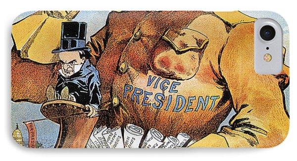 Roosevelt/mckinley Cartoon Phone Case by Granger