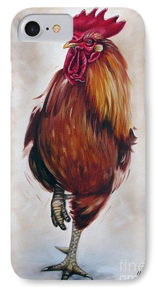 Rooster 17 Of 10 Phone Case by Ilse Kleyn