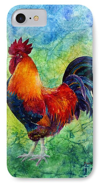 IPhone Case featuring the painting Rooster 2 by Hailey E Herrera