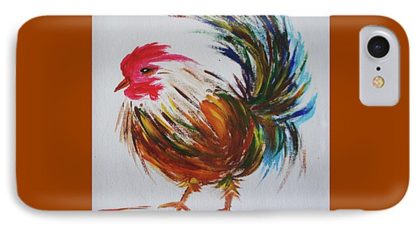 Rooster  IPhone Case by Art Spectrum