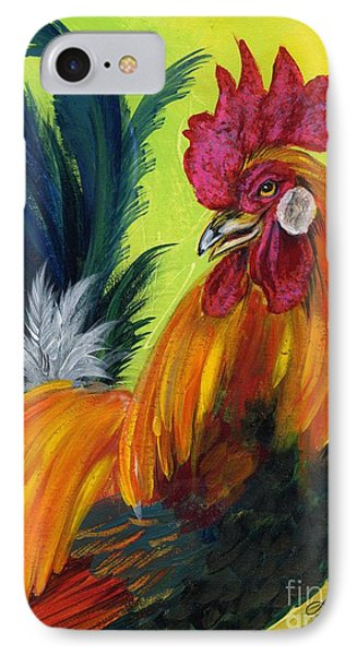 Rooster Kary Phone Case by Summer Celeste