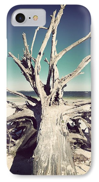 Roots To The Sky-vintage Phone Case by Chris Andruskiewicz