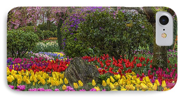Roozengaarde Flower Garden IPhone Case by Mark Kiver
