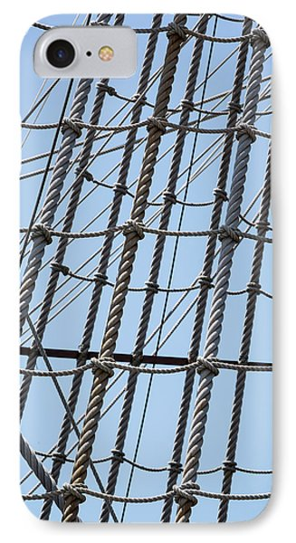 IPhone Case featuring the photograph Rope Ladder by Dale Kincaid