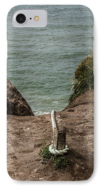 IPhone Case featuring the photograph Rope Ladder To The Sea by Odd Jeppesen