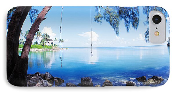 Rope swing over water florida keys photograph by panoramic for Swing over water