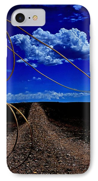 Rope The Road Ahead IPhone Case by Amanda Smith