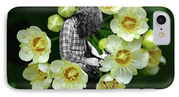 IPhone Case featuring the photograph Rory Flower by Ben Upham