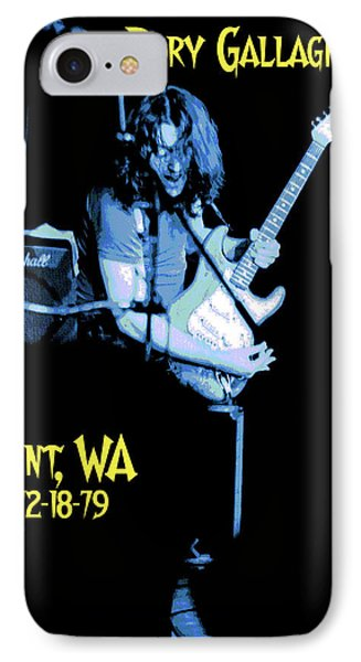 IPhone Case featuring the photograph Rory Kent Blues by Ben Upham