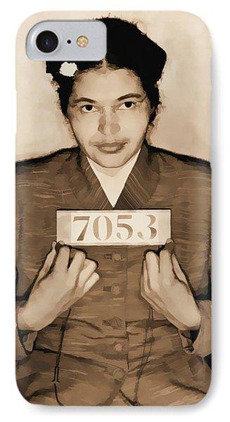 Rosa Parks Mugshot IPhone Case