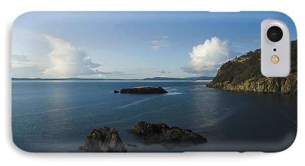 IPhone 7 Case featuring the photograph Rosario Strait Near Anacortes by Yulia Kazansky