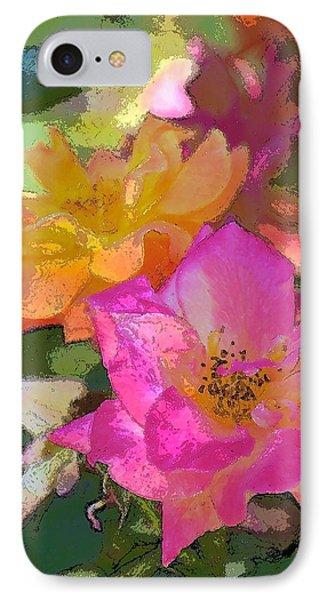 Rose 114 IPhone Case by Pamela Cooper
