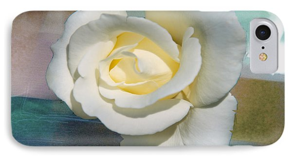 IPhone Case featuring the photograph Rose And Lights by Helen Haw
