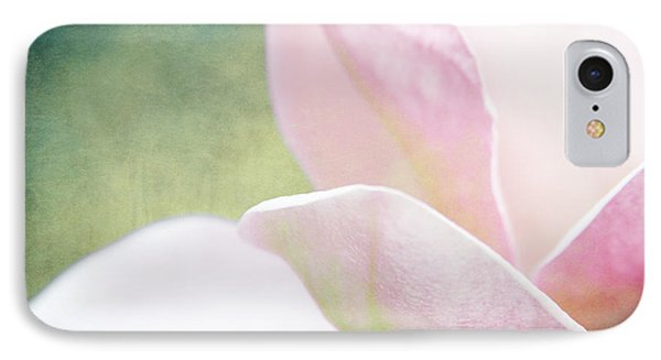 Rose And Pearl Colors Of A Bloom IPhone Case by Toni Hopper