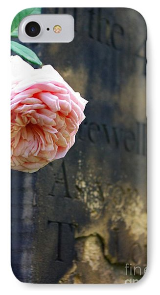 Rose At The Grave IPhone Case