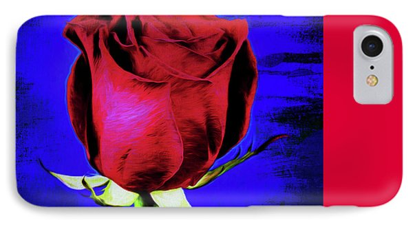 Rose - Beauty And Love  IPhone Case by Ray Shrewsberry