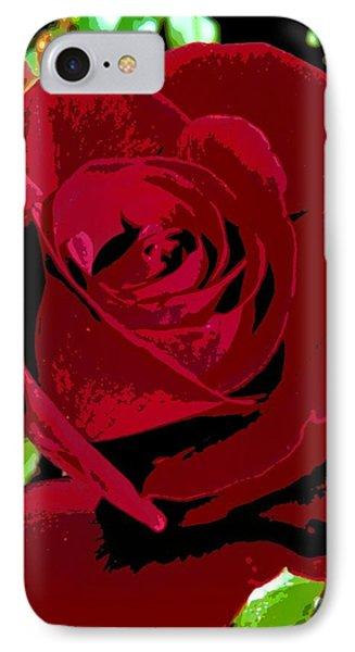 Rose Bloom IPhone Case by Matthew Bamberg