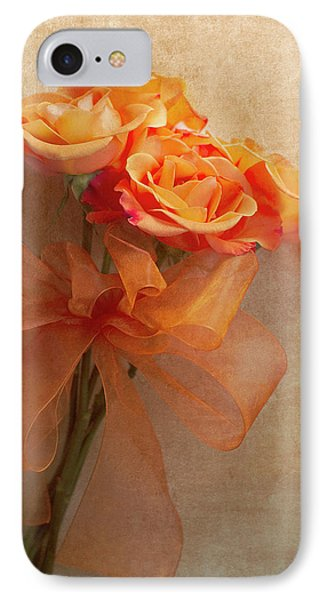 Rose Bouquet Phone Case by Rebecca Cozart