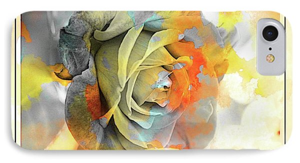 IPhone Case featuring the photograph Rose Bud by Athala Carole Bruckner