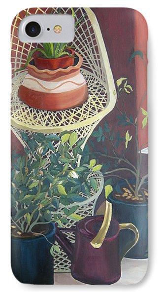 Rose Buds Phone Case by Antoaneta Melnikova- Hillman