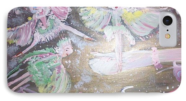 Rose Fairies IPhone Case by Judith Desrosiers