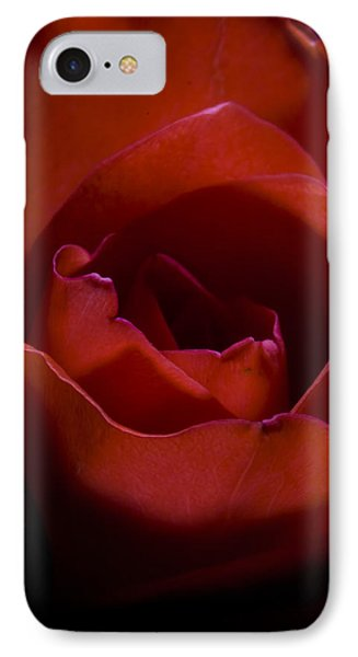 IPhone Case featuring the photograph Rose by Gabor Pozsgai