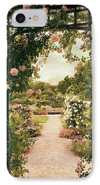 Rose Garden Grace IPhone Case by Jessica Jenney