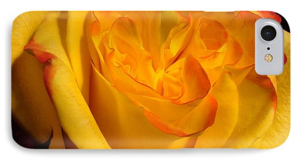 IPhone Case featuring the photograph Rose Heart by Margaret Bobb