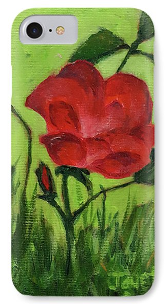 Rose IPhone Case by Janet Garcia
