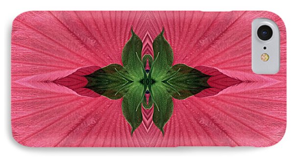 Rose Mallow Composition IPhone Case by Sarah Loft